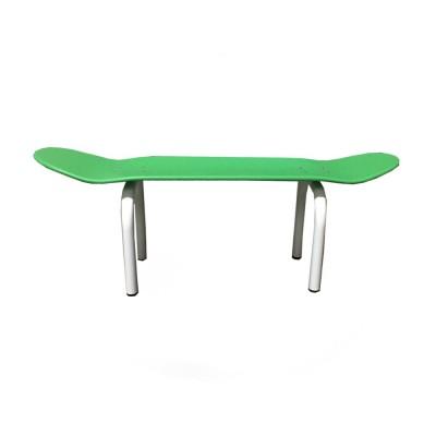banc skateboard vert leçons de choses