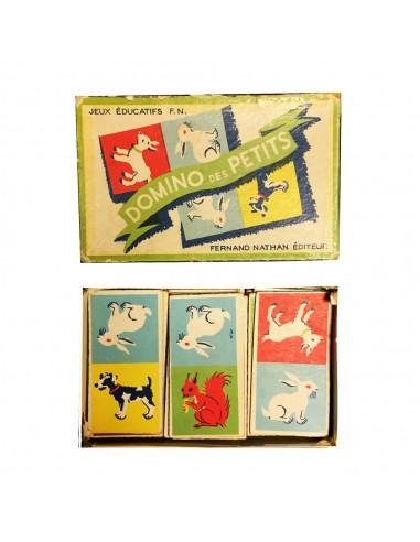 jeux educatif des dominos des petits fernand nathan