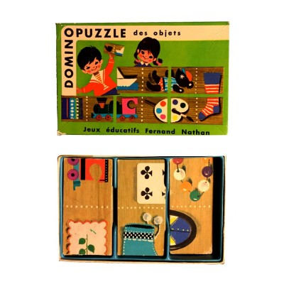 domino puzzle des objets fernand nathand