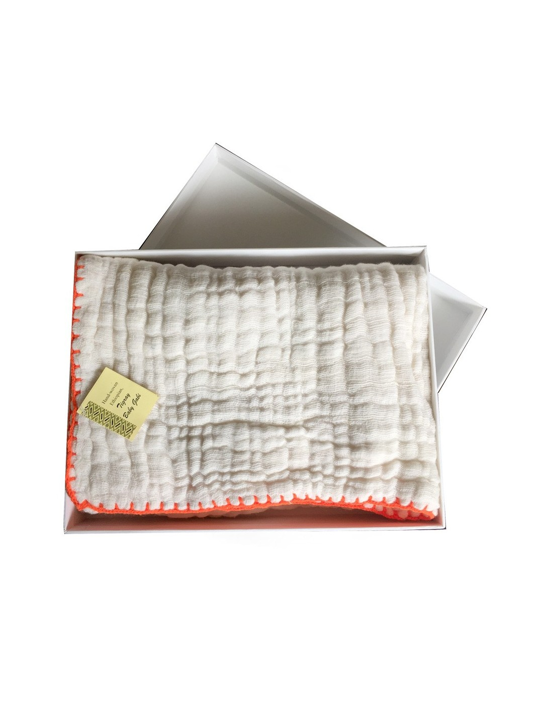 Couverture ou lange bebe coton ethiopien le ons de choses - Couverture en coton ...