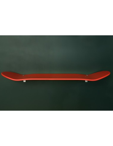 Etagères skateboard rouge murale leçons de choses