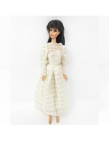 BARBIE VINTAGE  1966 TNT twist'n turn mariée made in Japan