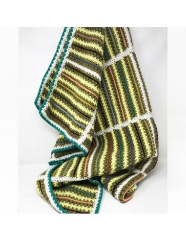 couverture crochet fait main