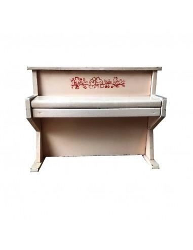 PIANO JOUET ANCIEN ROSE
