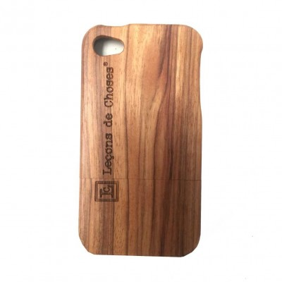 CASE I PHONE 5 OU 6 EN BOIS DE SKATE BOARD  ROSE