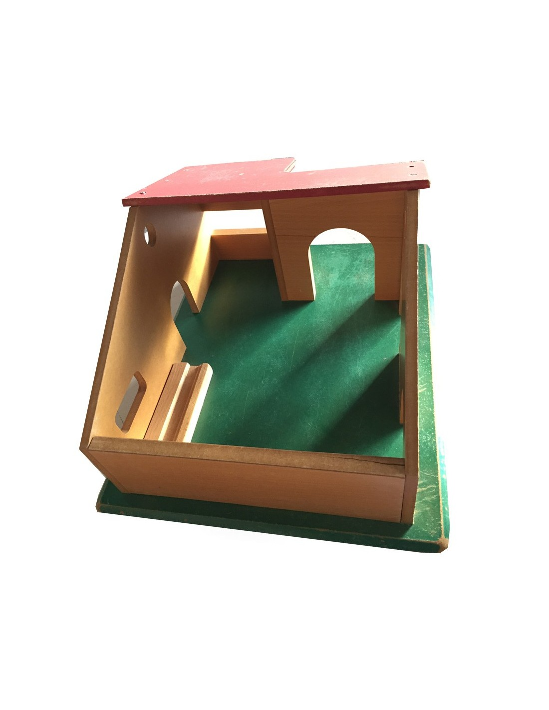 grande maison en bois petite poupee le ons de choses. Black Bedroom Furniture Sets. Home Design Ideas