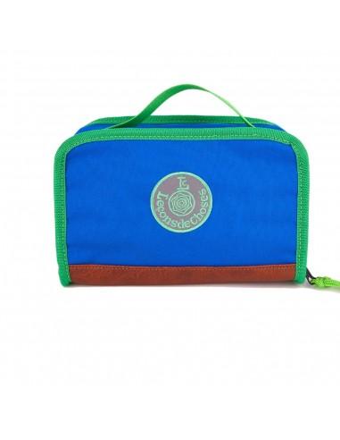 lunchbox bleu roi et verte isotherme