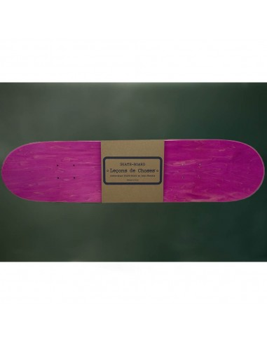 Etagères skate rose et bois