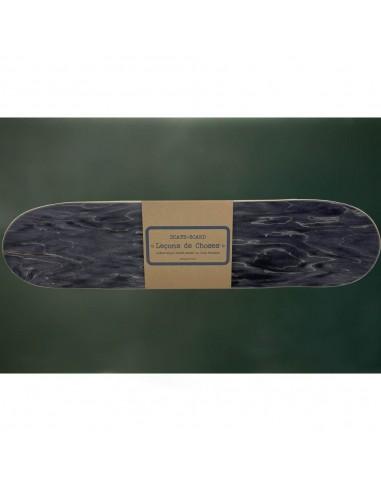 étagère skate board noire gris